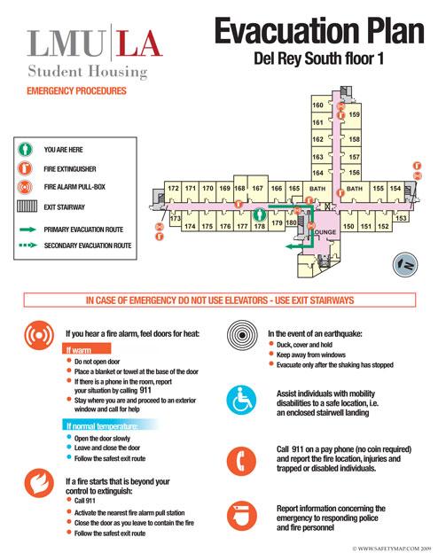 Welcome to Safetymap.com - building evacuation maps, evacuation ...